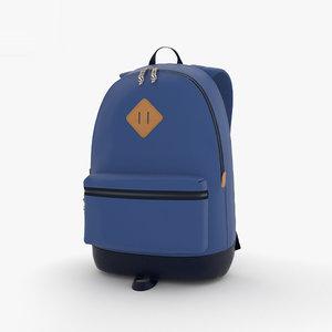 3D backpack pack