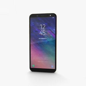 3D model samsung a6 galaxy