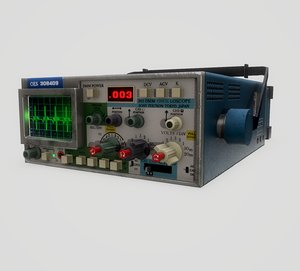 3D tektronix 305 dmm