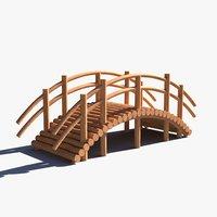 3D pbr wood 01 model