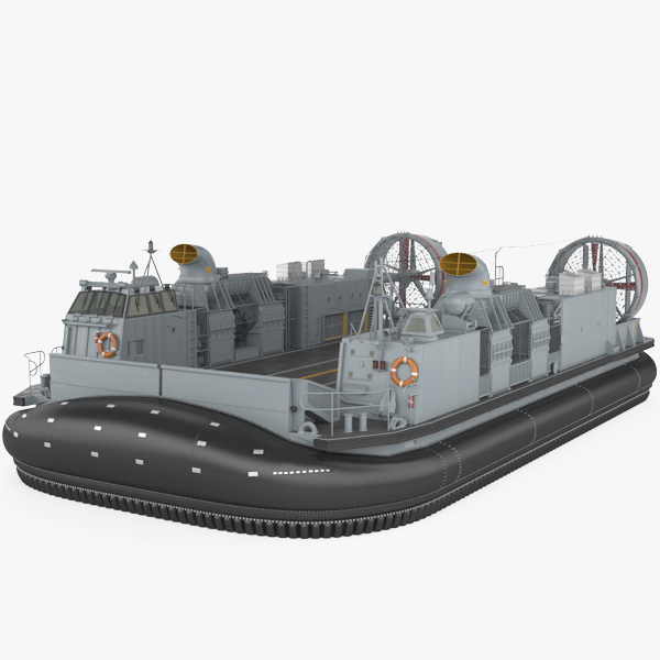 3D model landing craft air