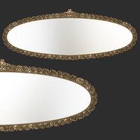 mirror oval 3D model