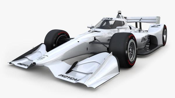 3D model indycar road course 2019