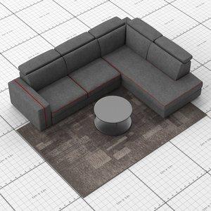 le comfort astor sofa model