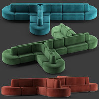 HMD INTERIORS Bistro Sofa