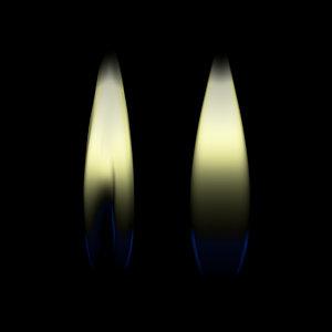 flame geometry 3D model