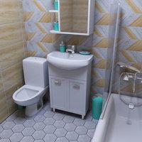 bathroom small scene 3D