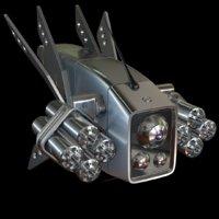 drone scifi 2 0 3D model