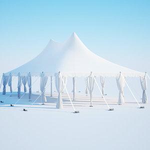 pavilion tent 3D