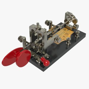 vibroplex bug telegraph key model