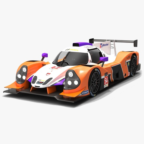 3D mlt motorsports imsa prototype model