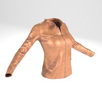 Jacket(For Woman, PBR, LowPoly)