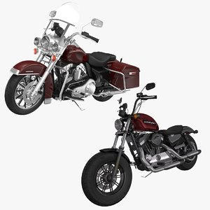 3D sportster road king model