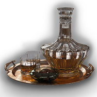decanter tray chocolate 3D model