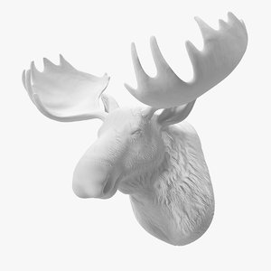 moose head fake wall model