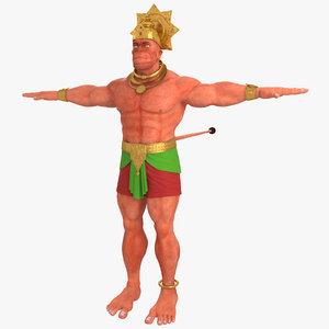 apeman hanuman - 3D model