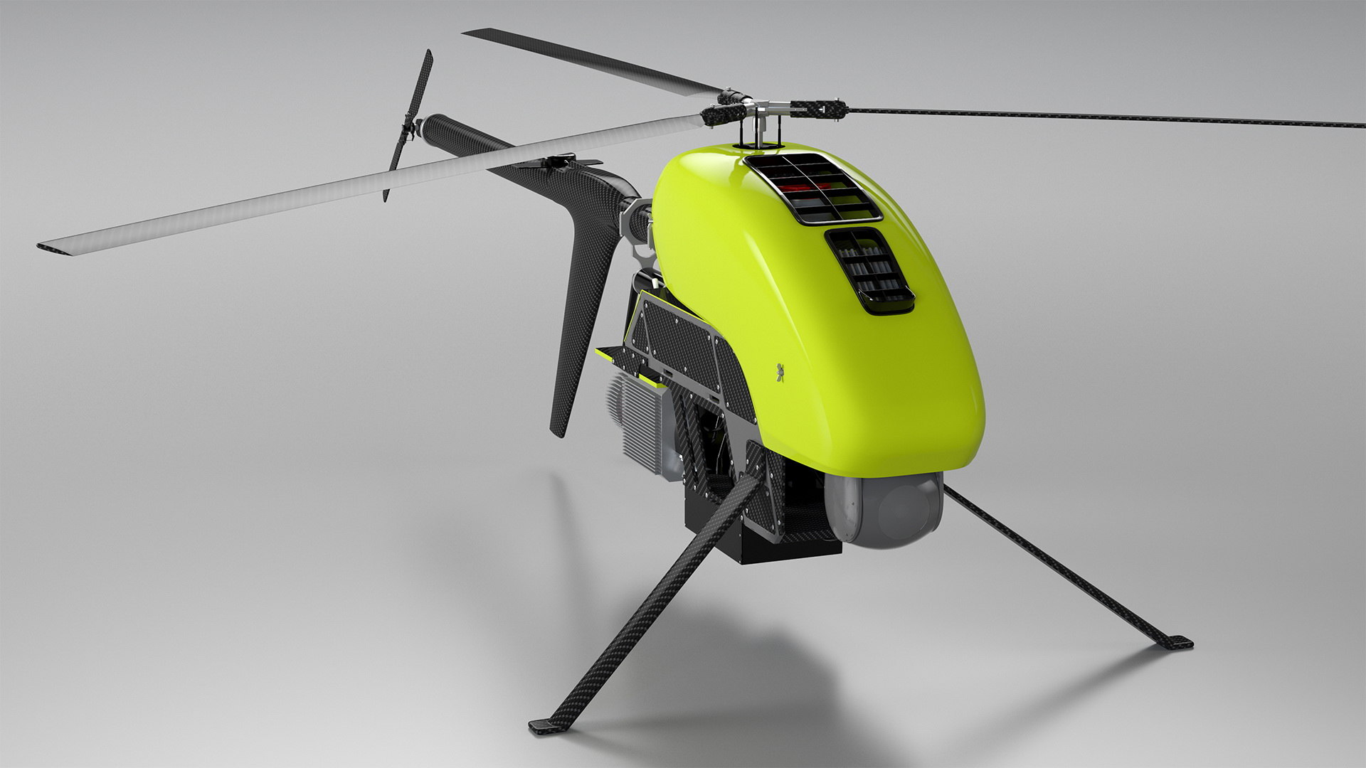 3D Helicopter Uav Drone Copters