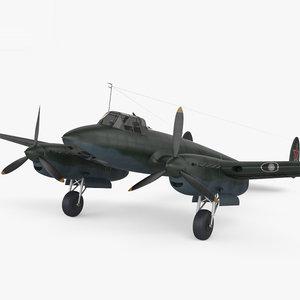 petlyakov pe-2 pe 3D model
