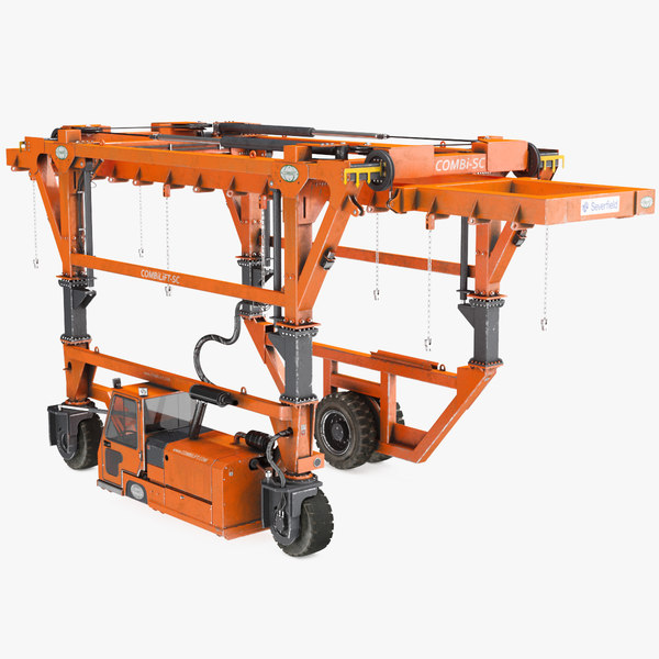 straddle carrier combilift sc 3D model