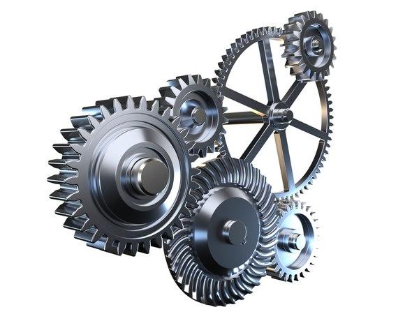 3D gear mechanism v1 model