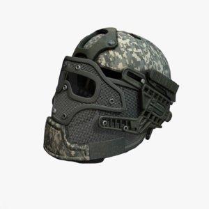 helmet helm 3D