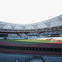 3D london stadium model