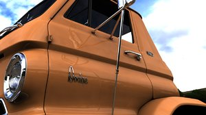 dodge l700 tilt cab 3D model