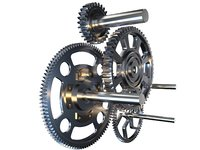 gear mechanism v2 3D model