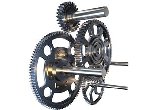 gear mechanism v2 3D model