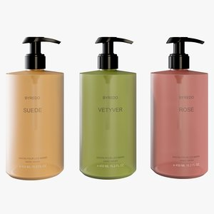 realistic byredo hand wash 3D model