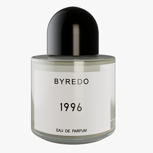 3D realistic byredo parfume model