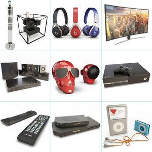 3D set technology accessories speaker