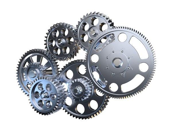 3D gear mechanism v3
