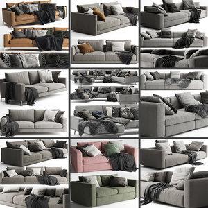 3D model sofa 02 - 10