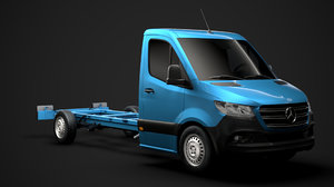 3D mercedes sprinter chassis single