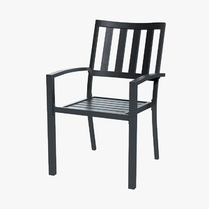 3D patio dining chair