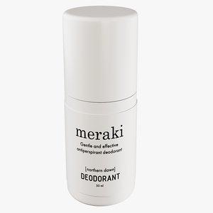 3D model realistic meraki deodorant