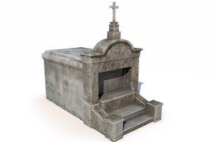 3D mausoleum 3 -