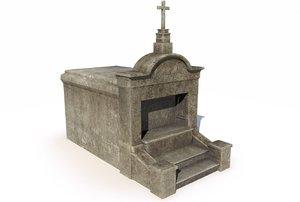 mausoleum - 3D