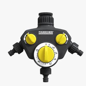 karcher watering clock wt2 3D
