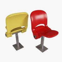 stadium chairs abacus 3D