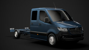 freightliner sprinter chassis crew 3D model