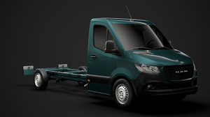 ram sprinter chassis single 3D model