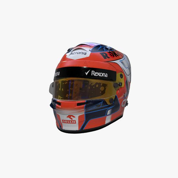 3D kubica 2019 helmet