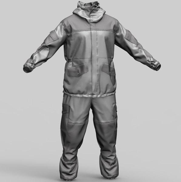 3D russian uniform gorka