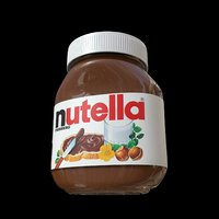nutella 750gr jar