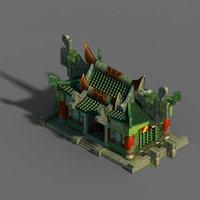 gang building - intermediate 3D model