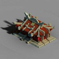 3D gang construction - intermediate model