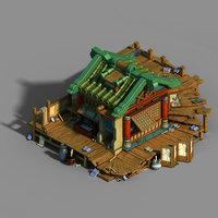 gang building - junior 3D model