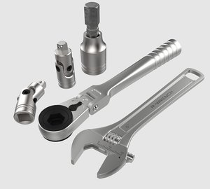 ratchet wrench tool 3D